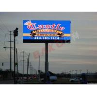 Aluminum PH10 Led Billboard Signs Slim SMD , High Definition