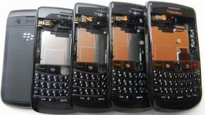 China Brand New Replace BlackBerry Cell Phone Full Housing of Bold 9780 with Battery Cover on sale