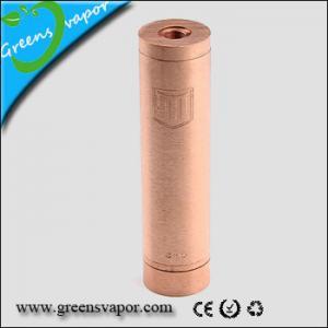 China GSV Mechanical Mod COPPER PENNY MOD CLONE 18650 on sale