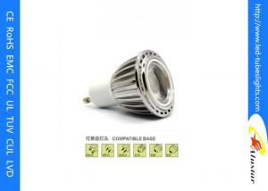 China Indoor Ceiling GU10 LED Spot Light Bulbs 5W 450lm With 30 / 60 ° Beam Angle on sale