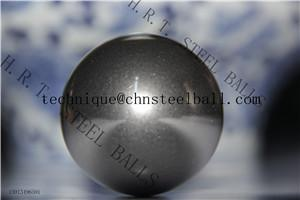 China Precision steel ball of AISI52100 in big size(63.5mm) on sale