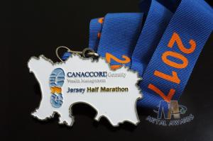 Quality Half Running 5K, 10K, Marathon Sports Events Metal Award Medals Custom desing, Soft Enamel for sale