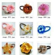 China Elastic Flower Band on sale