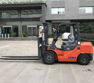 China 3.5 Ton Counterbalance Forklift Truck , 4780kg  Solid Tires Power Lift Forklift on sale