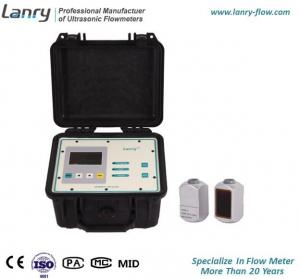China Portable Doppler Ultrasonic Flow Meter With Data Logger Function on sale