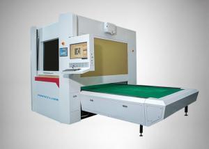 China Galvanometer Scanning CO2 Laser Engraving Machine 500 Watt For Jeans / Denim on sale