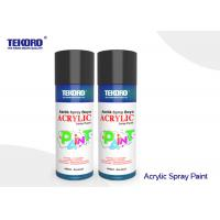 China Various Colors Acrylic Spray Paint Fast Drying For Plastic And Metal Garden Accessories on sale