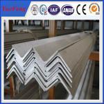 China 6063 v slot aluminum profile / l shaped aluminum extrusion manufacturer / aluminum l angle wholesale