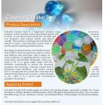 Cristales cristalinos coloridos del suelo/del agua/polyacrylate del potasio