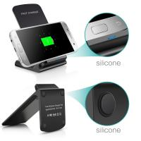 Qi Wireless Charger with USB Port USB Cable +Wireless receiver for For IOS and Android