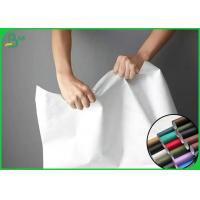 China 100% Recyclable And Silk Surface Tyvek Fabric For Making Clothes Or Bags on sale