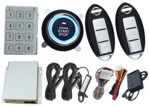 China Two Way Security Car Alarm Remote Car Locking System , Car Burglar Alarm System For Diesel Or Petrol Car on sale