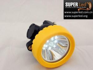 China LED Cordless Miner's Cap Lamp LED Lighting LED Headlamp on sale