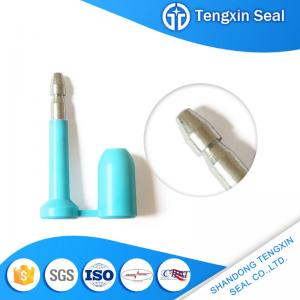 China TX-BS403 China oil seals shipping container red/white/yellow/blue markable security locks bolt seal on sale