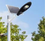 Integrated Waterproof Solar Powered Led Street Light With Auto Intensity Control