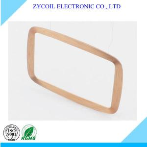 China Insulated Copper Wire Coil / Winding Inductance Coil for Card Reader on sale