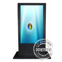 China 65 Inch IR Touchscreen Wifi Digital Signage For Advertising Display Android Operation System on sale