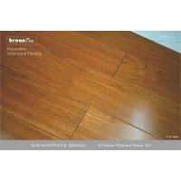 China Suelo natural de madera sólida de la TECA E0 con 1155 PSI de dureza de Janka on sale