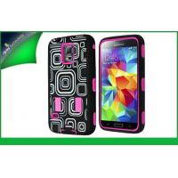 China PC And Silicone Hybrid Samsung Mobile Phone Cases For Samsung S5 on sale