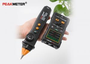 China Black Electrical Cable Tracer , Network Wire Coax Cable Continuity Tester on sale