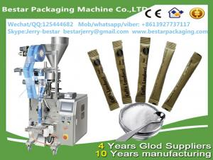 China Automatic Small Type Granule Stick Salt Sugar Sachet Packaging Machine Price bestar packaging machine on sale