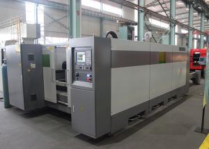 China 3KW CNC Sheet Metal Cutting Machine For 8mm Aluminyum Alloys IPG Fiber Laser Power on sale