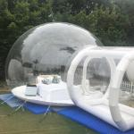 Hot sell transparent bubble hotel bubble tent for family weekend relax camping