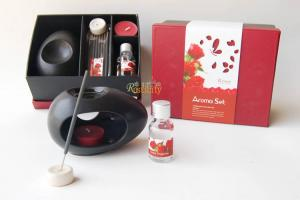 China wholesale aromatherapy gift essential oil with authentic joss stick on sale