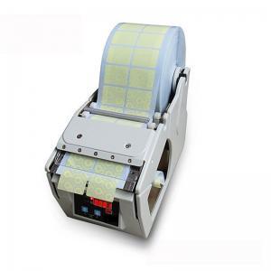 China Automatic Adhesive Sticker Label Dispenser X-100 Sticker Labeling Machine on sale