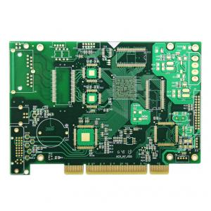 China 6 Layers Blind Hole Prototype Circuit Board , Gold Finger PCB Assembly Services on sale