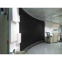 China HD SMD P4 Flexible Led Screens , Round Curved Led Wall for Rental Show Advertising on sale