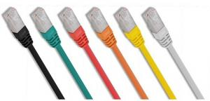 China FTP/STP Single Shielded Cat6 Ethernet Patch Cable on sale