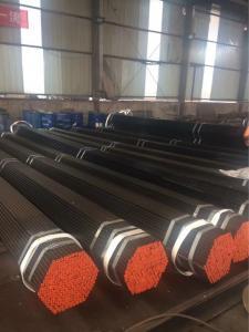 China Black Paint Surface Carbon Steel Seamless Pipe ASME B36 P355NL2/1.1106 Long Lifespan on sale
