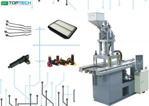 China Air Condition Filter Automatic Injection Molding Machine 250 Ton Vertical Clamping PLC Control on sale