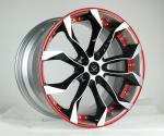 18 19 20 21 22inch red machined face 2-piece forged wheel rims for X5 X6