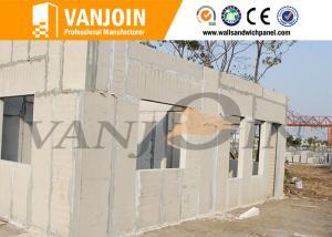 China Eps Cement Modern Prefab Houses Modular Sound Insulation , Modern Prefab Homes on sale