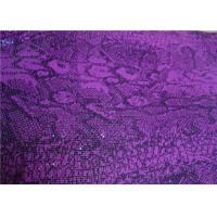 Fashion Silkscreen Metallic Mesh Fabric Color Customized For Visual Merchandising