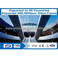 China Q345 Q235 Metal Buildings Steel Frame Structure For Norway Client on sale