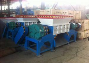 China High Capacity Rubber Tyre Shredding Machine / Industrial Tyre Shredding Machine on sale