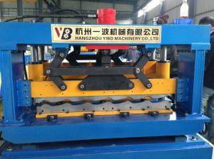 China Manual Cold Roll Forming Machine , Roof Panel Roll Forming Machine on sale