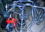 Máquina de ordenha portátil do motor do motor da gasolina/óleo para vacas, carneiros e cabras