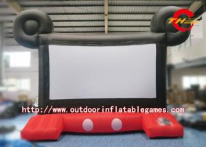 China Customized Inflatable Outdoor Movie Screen Inflatable Projector Movie Screens on sale