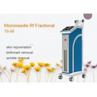 4 Heads Depth 0.5 - 3mm Fractional RF Microneedle Machine For Skin Rejuvenation