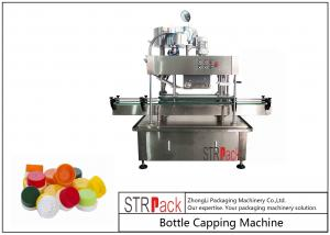 China Automatic Linear Capping Machine Press Capper To Tighten And Secure Caps on sale