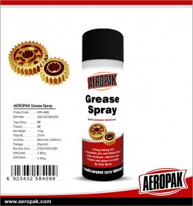 China AEROPAK 200 ml high performance Anti-seize Copper Grease Spray Lubricant Oils Lubricating Spray on sale