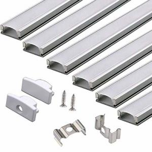 China LED Light Box 0.5m T5 6063 Aluminum Extrusion Profile on sale