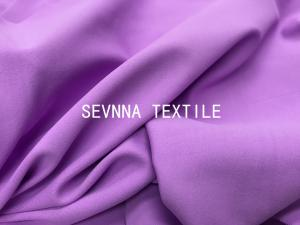 China Nimble Activewear Polyester And Spandex Fabric 280GSM Weight Purple Color on sale