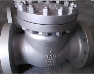 China Flanged Swing Check Valve 150# CF8M Body Bolt & Nut B7/ 2H Metal seated HF on sale