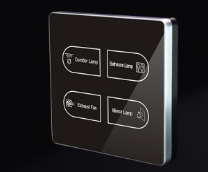 China Smart home hotel wall switch touch light switch on sale