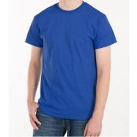 Blank Plain Round Neck Mens Soft Cotton T Shirts With Custom Logo